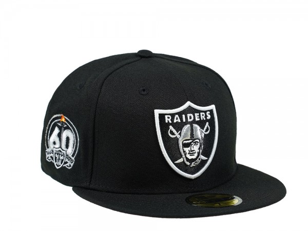 New Era Las Vegas Raiders 60th Season Black Pink Edition 59Fifty Fitted Cap
