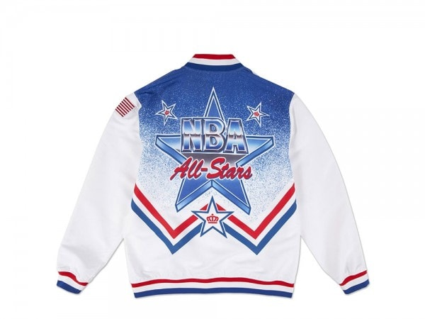 Mitchell & Ness Authentic NBA Warm Up Jacke - All Star Game 1991 East