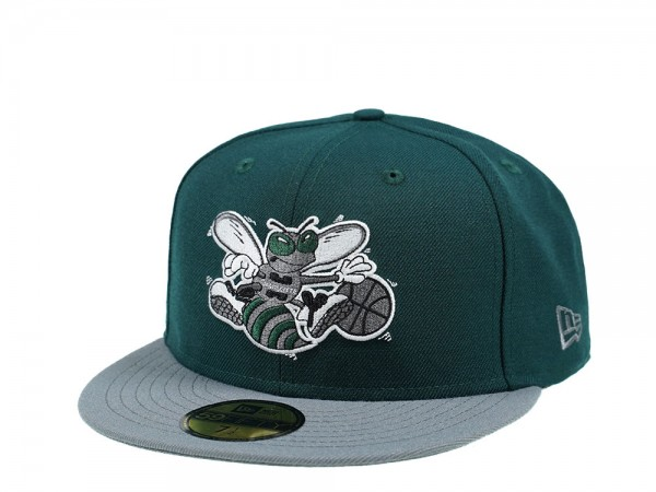New Era Charlotte Hornets Green and Gray Edition 59Fifty Fitted Cap