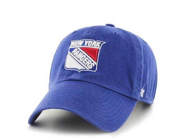 47brand New York Rangers Clean up Strapback Cap
