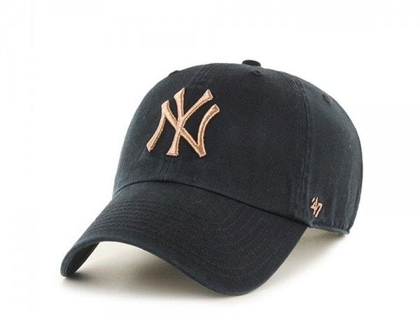 47Brand New York Yankees Clean Up Copper Strapback Cap