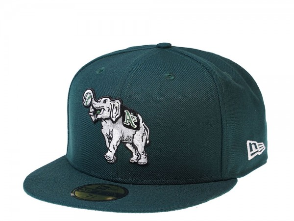New Era Oakland Athletics Green Stomper Edition 59Fifty Fitted Cap