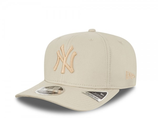 New Era New York Yankees All Stone White 9Fifty Stretch Snapback Cap