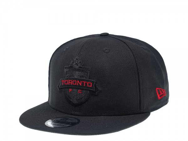 New Era Toronto FC Black and Red Edition 9Fifty Snapback Cap