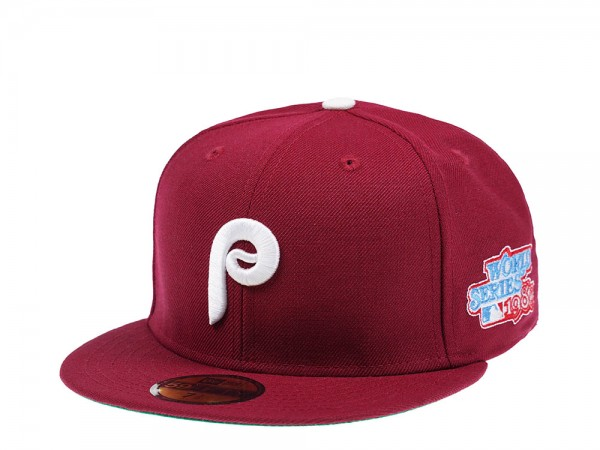 New Era Philadelphia Phillies World Series 1980 59Fifty Fitted Cap