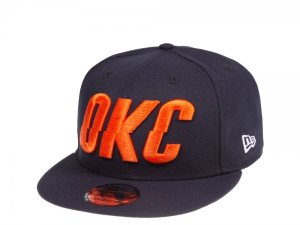 New Era Oklahoma City Thunder OKC Script 9Fifty Snapback Cap