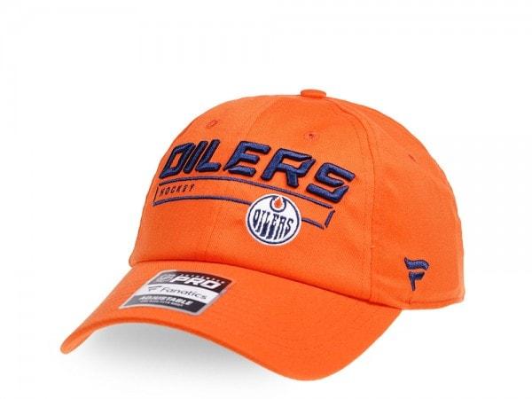 Fanatics Edmonton Oilers Authentic Pro Rinkside Adjustable Strapback Cap