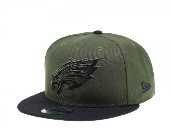 New Era Philadelphia Eagles Dark Green Edition 9Fifty Snapback Cap